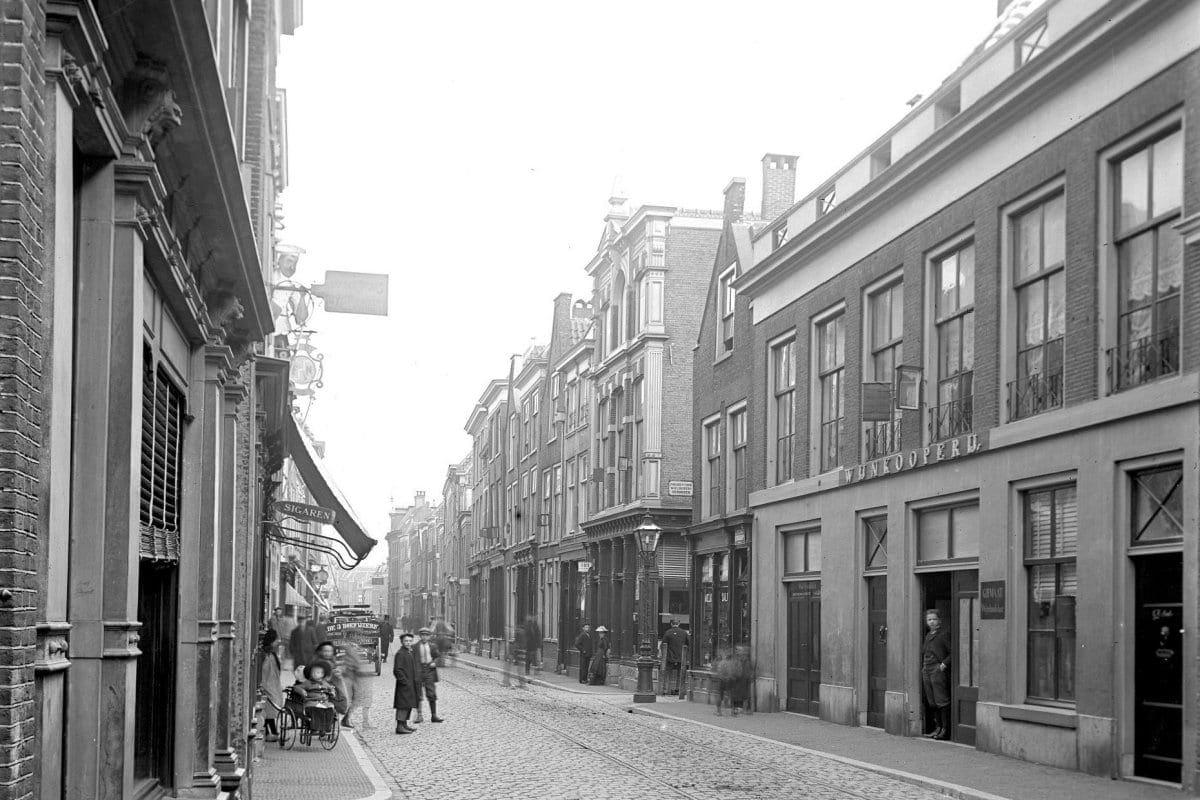 De Hogewoerd rond 1900-1902