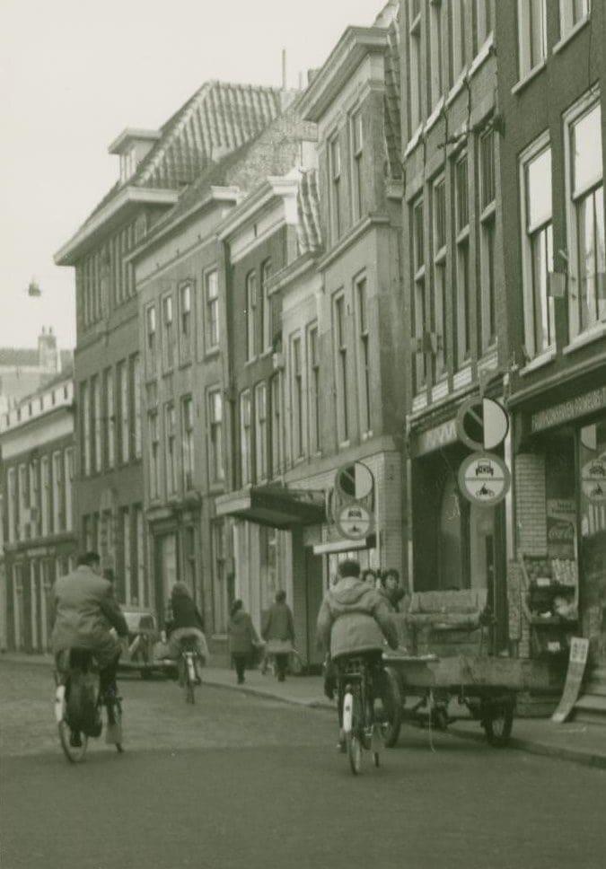Hogewoerd 55 en 57 in 1961