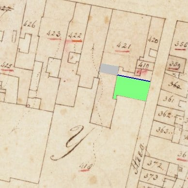 Afspraken uit 1836