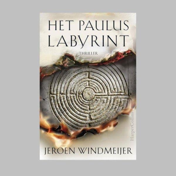 De omslag van Het Pauluslabyrint