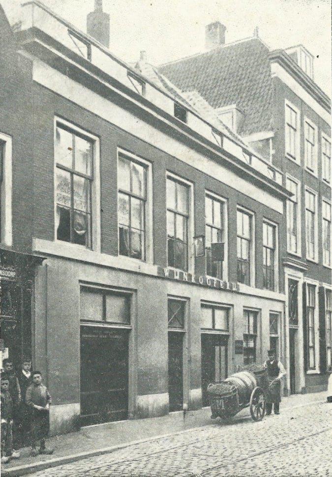 Hogewoerd 57 rond 1900