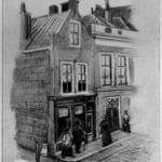 Een tekening van Hogewoerd 63 uit 1894