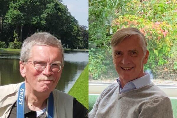 Links Jan Dröge, rechts Ron van Nood