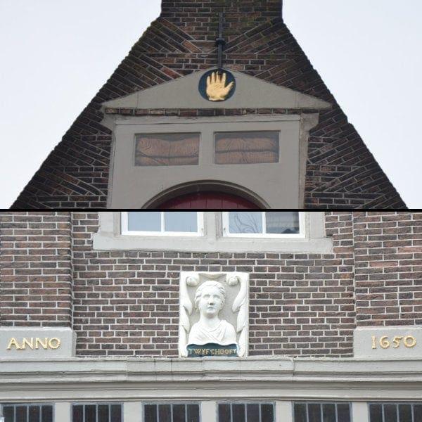 De stenen in de gevel van Nieuwstraat waar al eeuwen over gesproken wordt