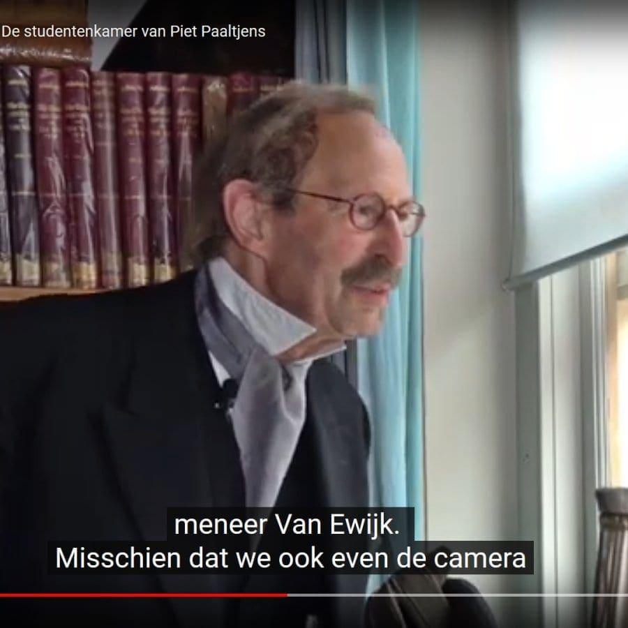 Hans van der Veen in het filmpje over Hogewoerd 63