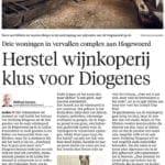 Een artikel uit het Leidsch Dagblad van 11 januari 2016