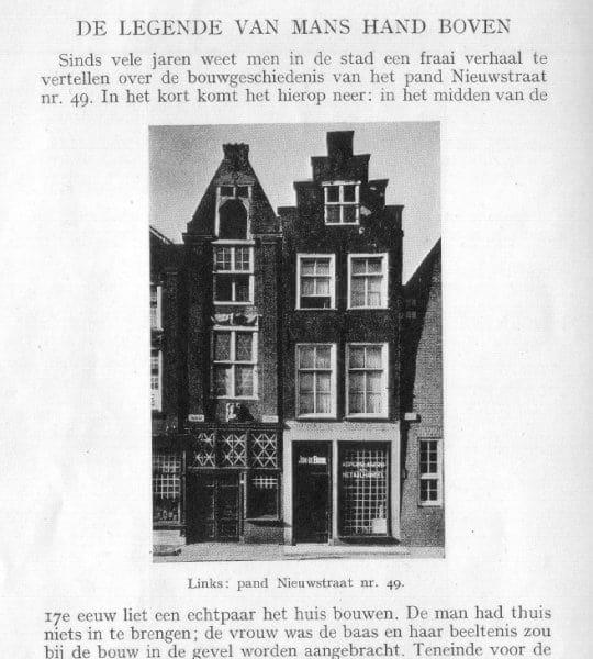 Fragment van het artikel van Bicker Caarten en Van Roijen